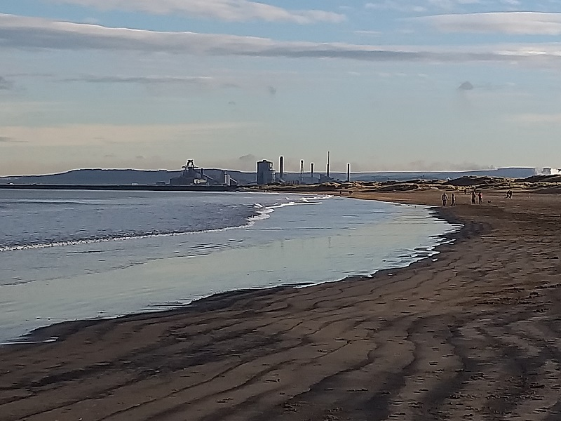 Redcar Steelworks (As Seen from Seaton Carew Beach)