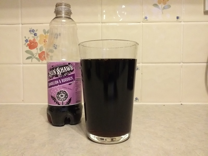 Ben Shaws Dandelion and Burdock (A Typically British Soft Drink)