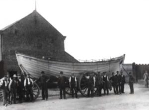 Redcar Fishermen and their Lifeboat