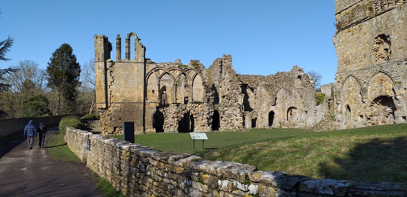 Easby Abbey (Richmond, North Yorkshire)