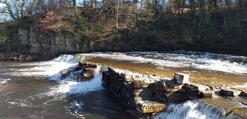 Richmond Falls (River Swale - Richmond, North Yorkshire)