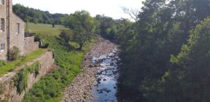 Picture of the River Greta (Viewed from Greta Bridge)