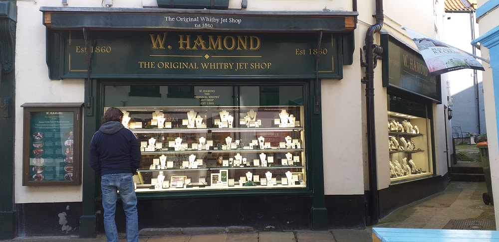 W. Hamond (Original Whitby Jet Store)
