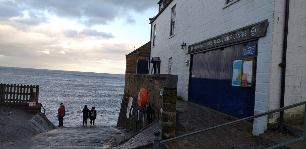 Old Lifeboat Station at Robin Hood's Bay