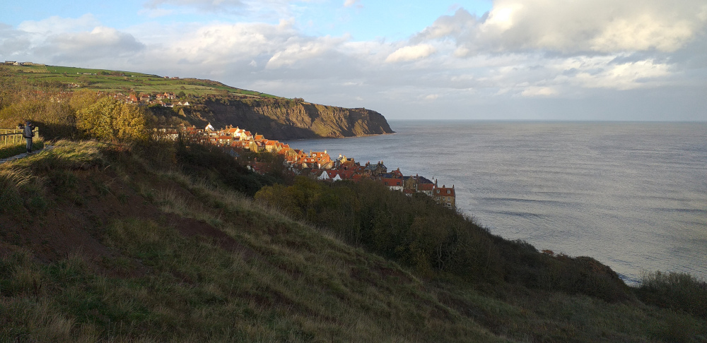 Looking Down on Robin Hood's Bay