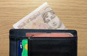 Kindz Wallet with Folded Money