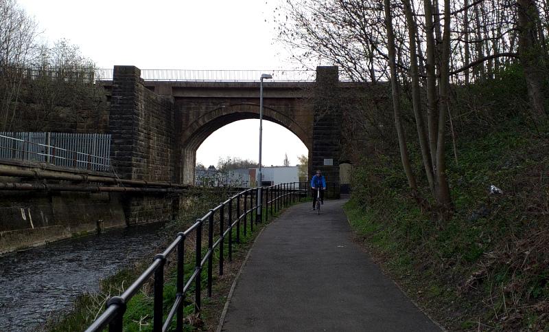 The railway bridge over the River Skerne (built 1824-1825) is the oldest functioning railway bridge in the world