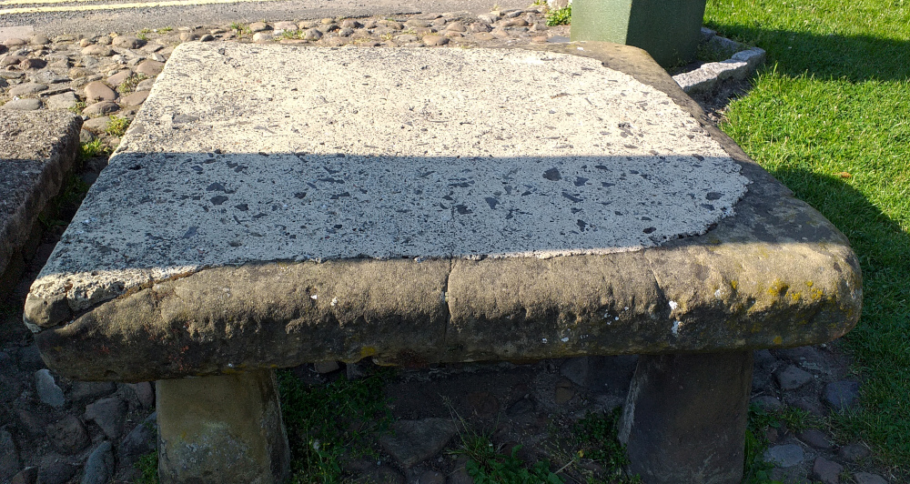 Osmotherley's Stone table (barter table?)